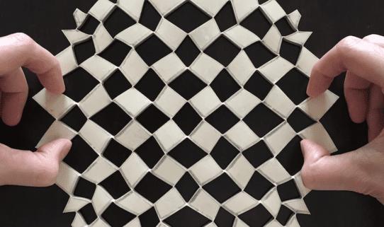 Shape-shifting sheets