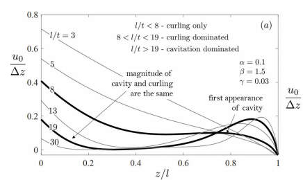 Competing failure modes in finite adhesive pads