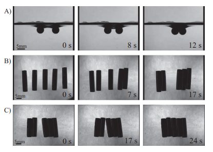 Elastic cheerios effect: Self-assembly of cylinders on a soft solid
