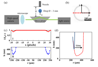 Lift-off instability during the impact of a drop on a solid surface